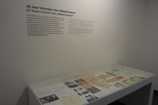 Overzichtspresentatie twintig jaar Vrienden in het museum. Foto: Piet van Bragt