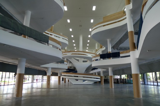 Sinds 1957 vormt het Ciccillo Matarazzo Paviljoen het hart van de Biënnale.